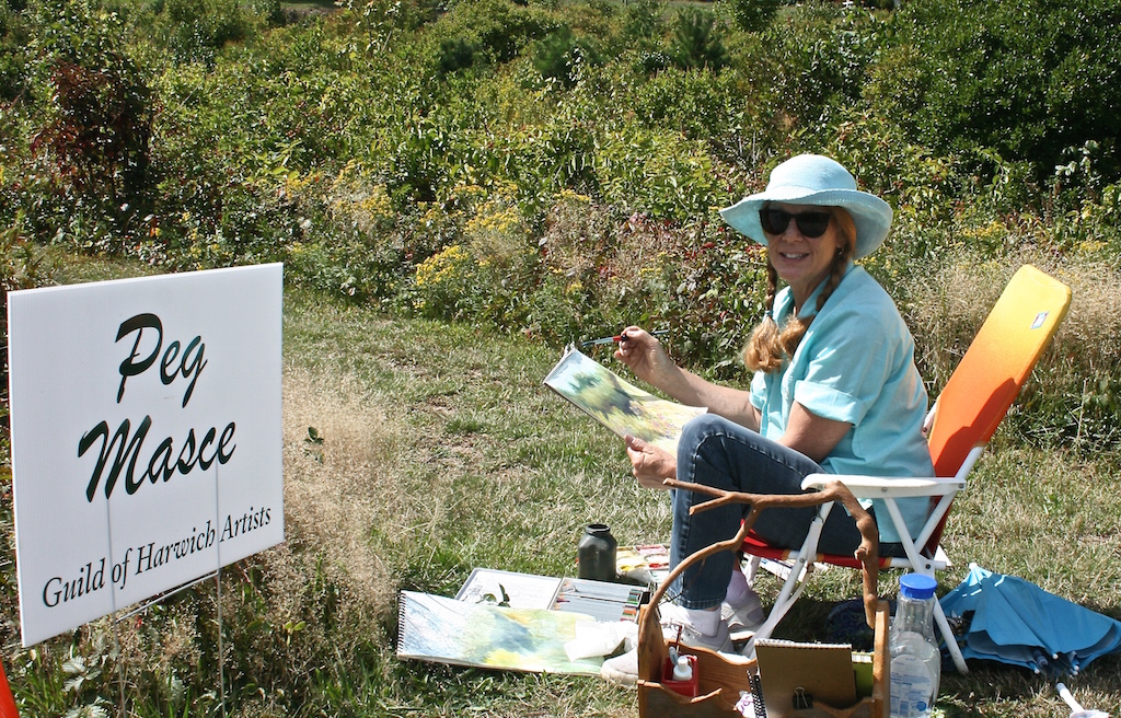 Peg Masce, 5th Annual Harwich Conservation Trust Wildlands Music & Art Stroll ©Kathleen Magnusson