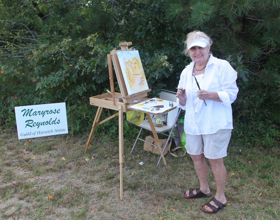 Maryrose Reynolds, 5th Annual Harwich Conservation Trust Wildlands Music & Art Stroll ©Kathleen Magnusson