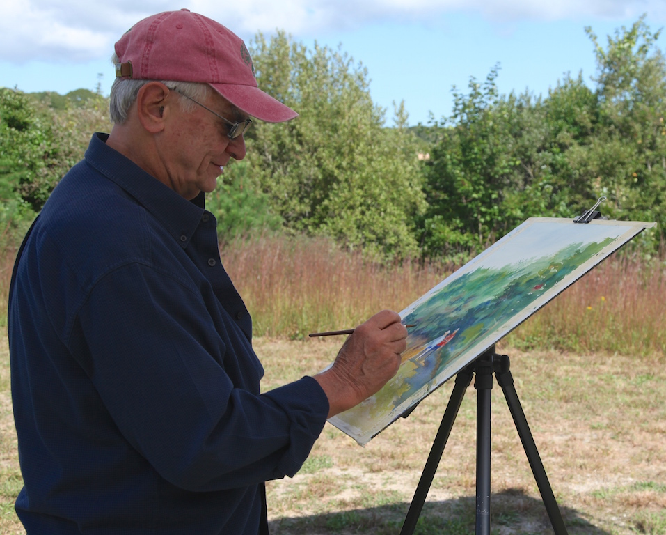 Larry Folding, 5th Annual Harwich Conservation Trust Wildlands Music & Art Stroll ©Kathleen Magnusson