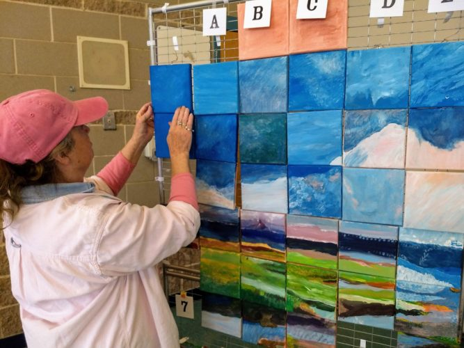 Community Painting Unveiling